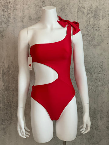 Red Bow One piece
