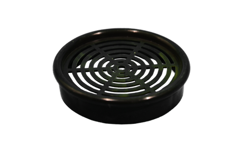 Back to Nature Inlet / Outlook Strainer (Black)