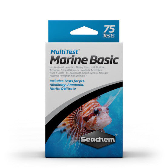Seachem MultiTest: Marine Basic