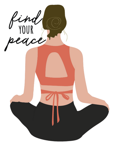 FIND YOUR PEACE STICKER