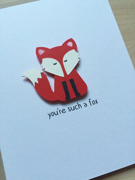 You're Such a Fox | Funny Love Card