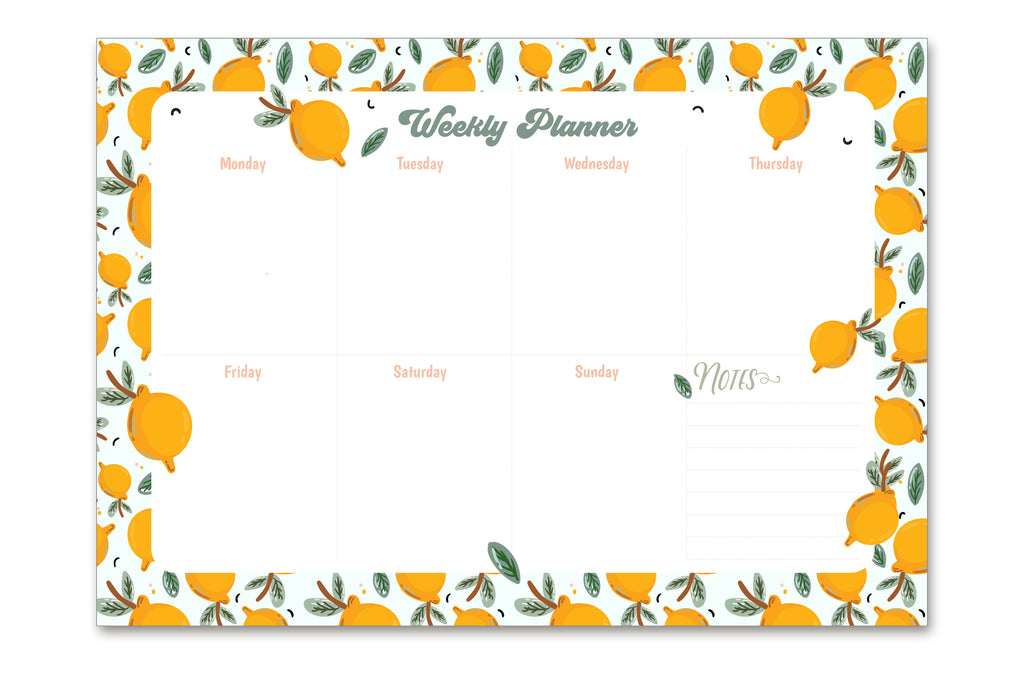 LEMON | Weekly Planner