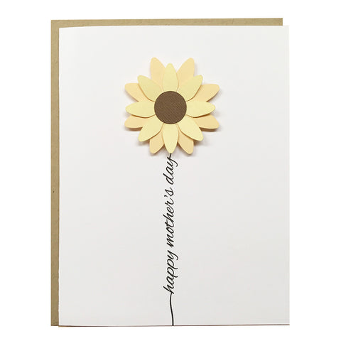 Happy Mother's Day Flower | Mother's Day Card
