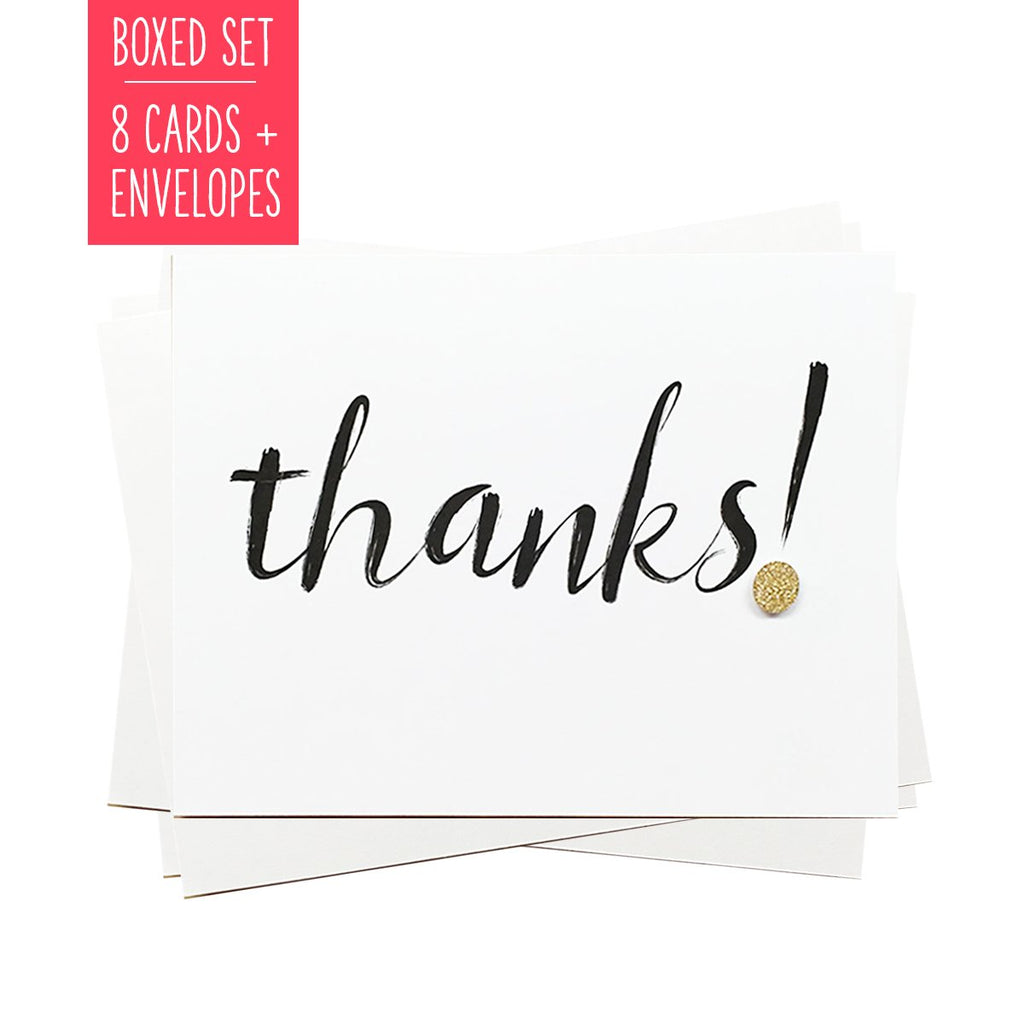 THANKS! | Boxed Set of 8