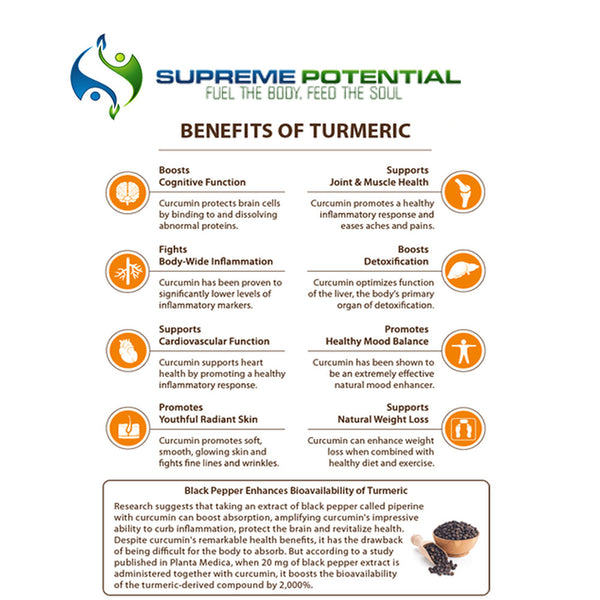 benefits of turmeric curcumin supplement
