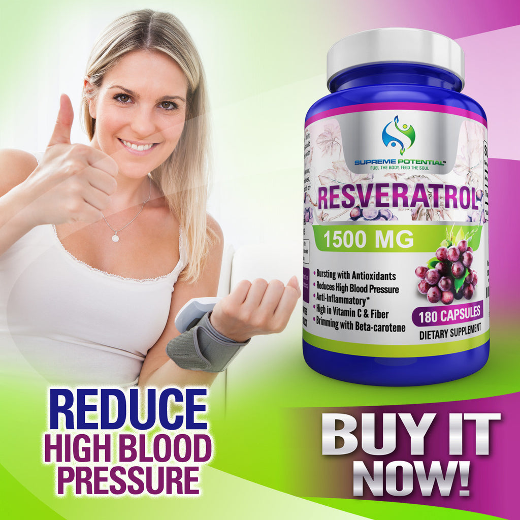 1500mg of Pure Resveratrol