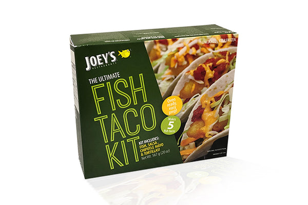 Fish taco kit box