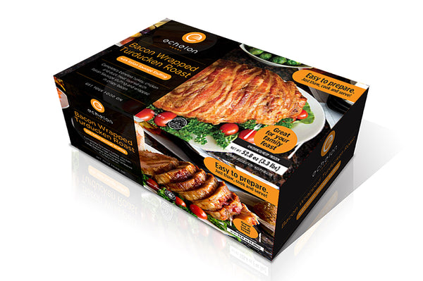 Bacon Wrapped Turducken Premium Roast (3 kg)