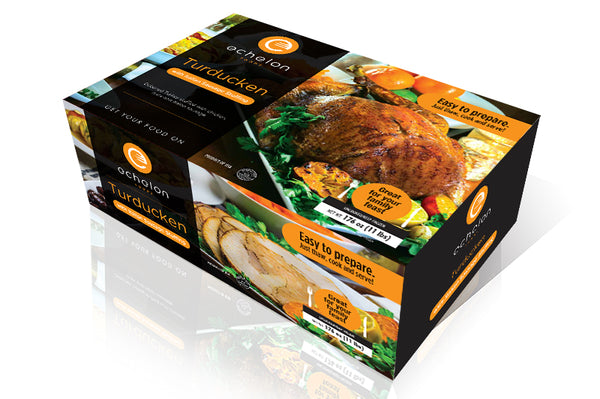 Italian Sausage Stuffed Turducken Box