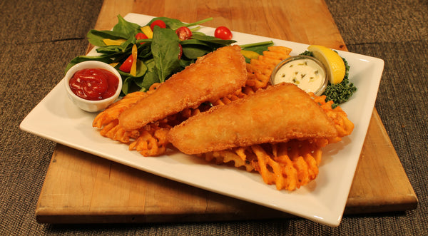 "Pacific Cod Fillet with ""Giant Joe"" Batter - 3 oz portions, 10 lbs"