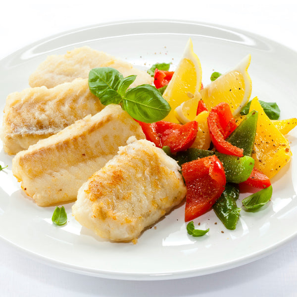 Premium Fish Portions Mixed Pack - 18 x 6 oz vacuum-packed portions