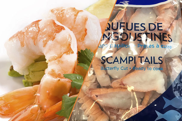 Shrimp and Scampi Mixed Pack, 6 lbs