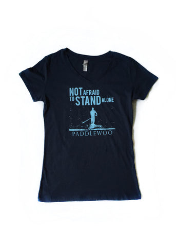 WOMENS STAND ALONE TEE / NAVY