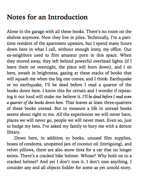 Am I Alone Here? Notes on Living to Read and Reading to Live by Peter Orner