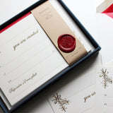 Invitations - Mistletoe & Holly