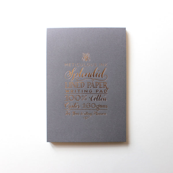 Lined Writing Pad