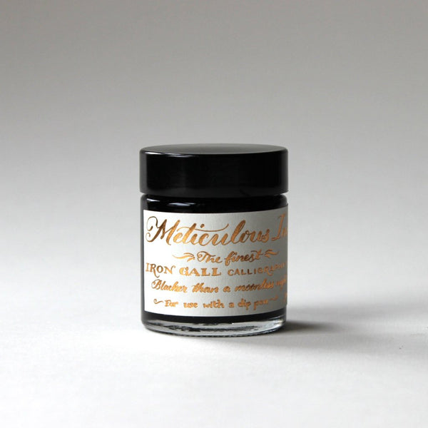 Meticulous Iron Gall Ink