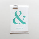 Ampersand Postcard