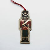 Christmas Decoration Postcard - Nutcracker