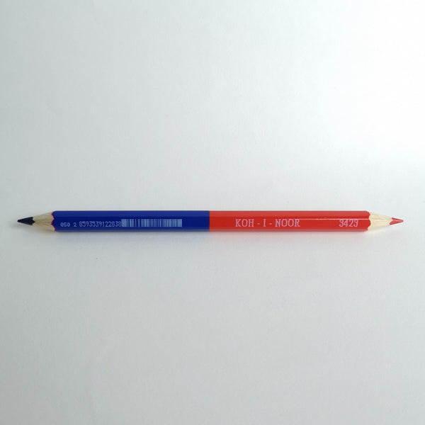 Koh-I-Noor Magnum Red & Blue Pencil