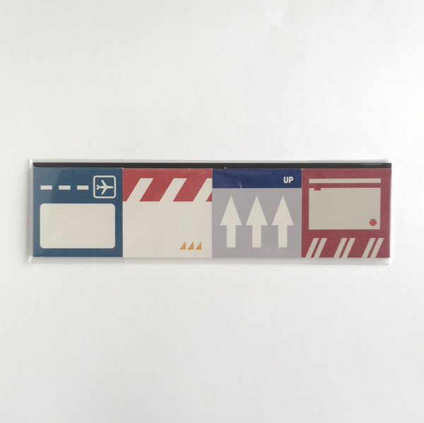 Paperways Airport Terminal Sticky Notes Set of x4