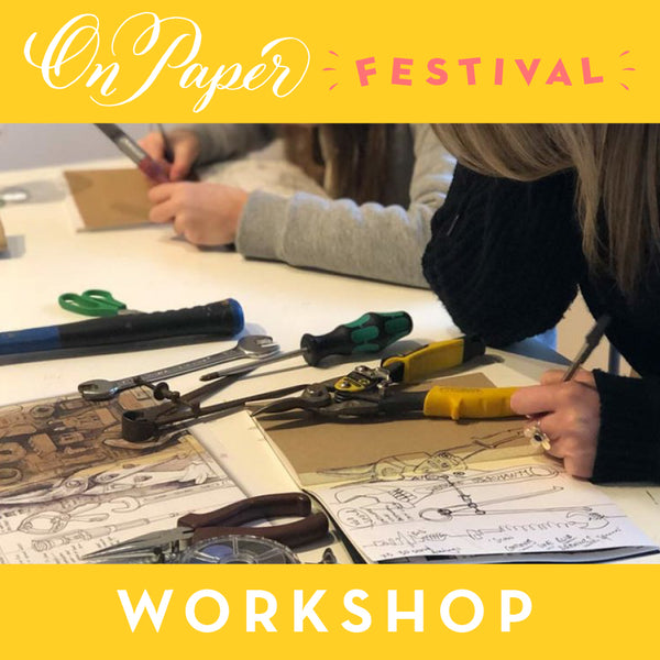 Sketchbook Workshop with Lee John Phillips - Friday 28th June 2019 10.30am to 12.30pm