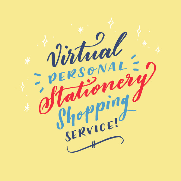 Virtual Personal Stationery Shopping