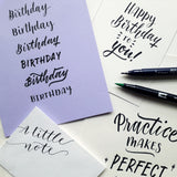 Brush Lettering Workshops - ON HOLD