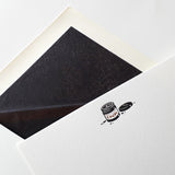Foil & Letterpress Ink Pot Correspondence Cards