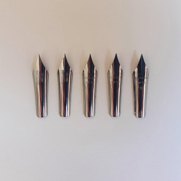 Pack of Five Art Nibs for Noodler's Konrad Pen