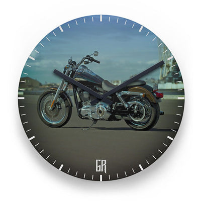 Clock - Softail Bike Clock