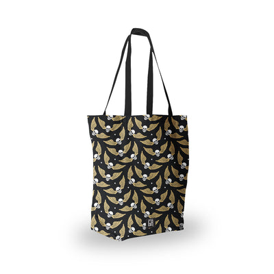 Flying Skulls Tote Bag