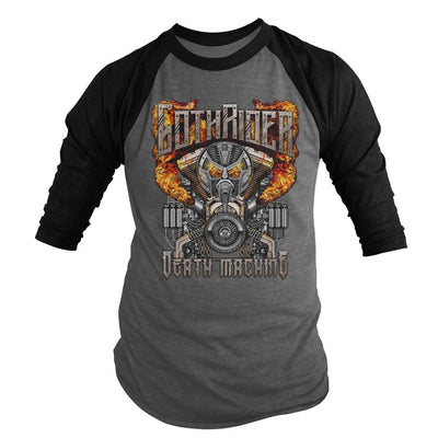 Death Machine Baseball Shirt