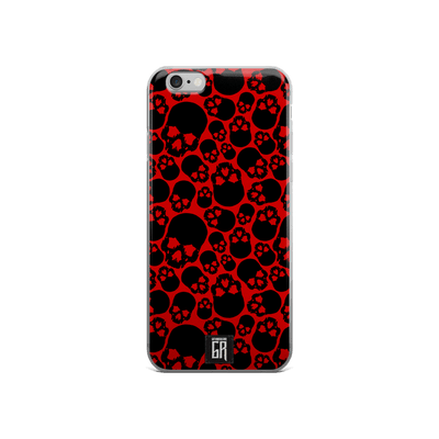 IPhone Cases - Bloody Skulls IPhone Case