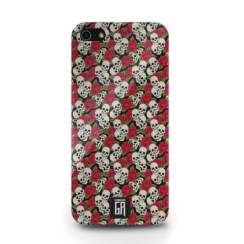 IPhone Cases - Skulls & Roses IPhone Case