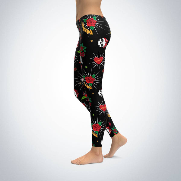 Leggings - Classic Tattoo Leggings