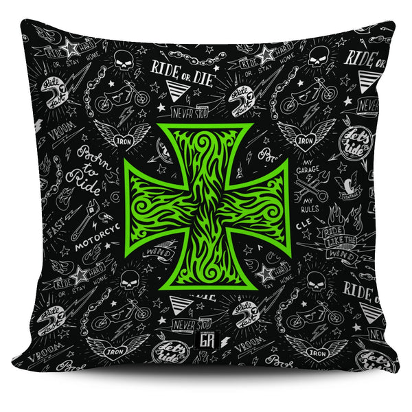 Pillow - Biker Iron Cross Pillow