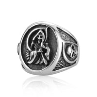 Rings - Sons Of Anarchy With Side Skulls Man Ring
