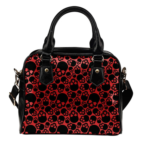 Shoulder Bag - Bloody Skulls Shoulder Bag