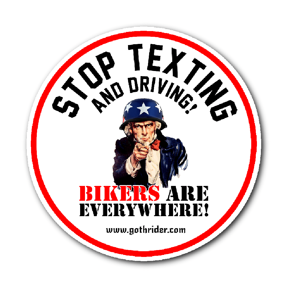 Stickers - Stop Texting & Driving Sticker