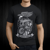 T-Shirts - American By Birth Biker By Choice