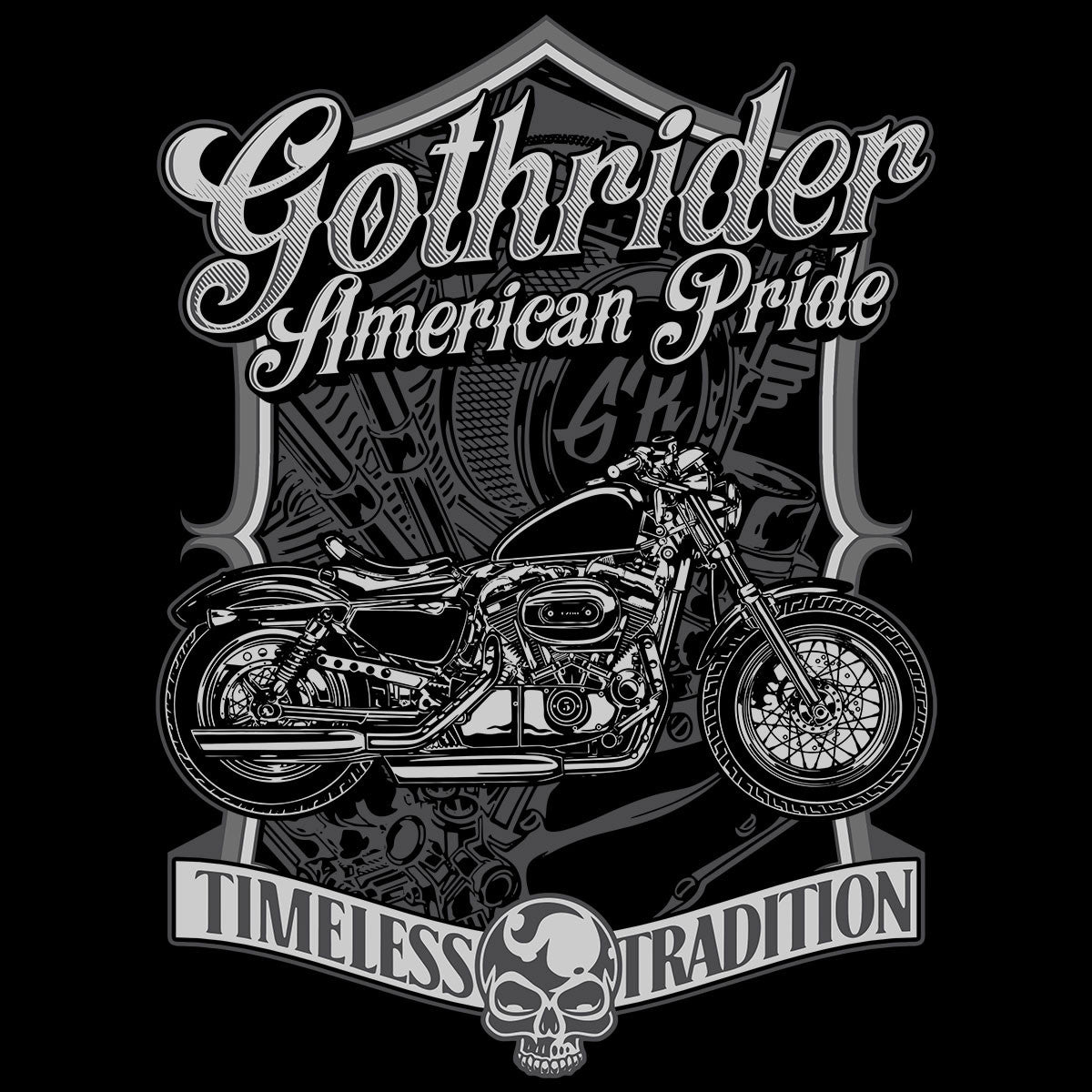 Design t shirt motor - T Shirts American Pride Timeless Tradition