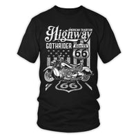 T-Shirts - American Tradition Highway Route 66