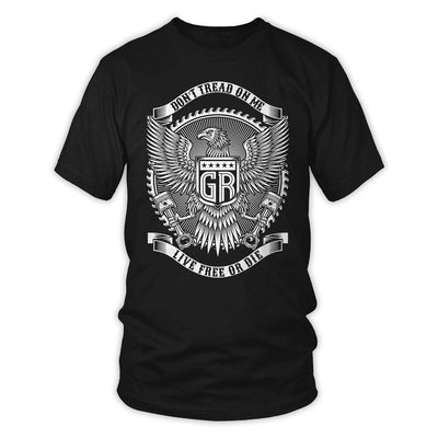 T-Shirts - Don't Tread On Me Live Free Or Die