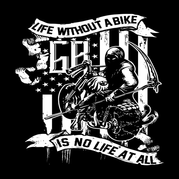 T-Shirts - Life Without A Bike Is No Life At All