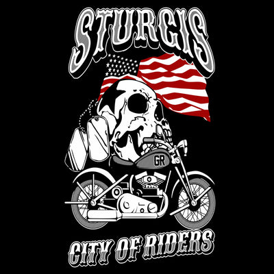 T-Shirts - Sturgis City Of Riders