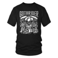 T-Shirts - V-Twin Engine Ride Free