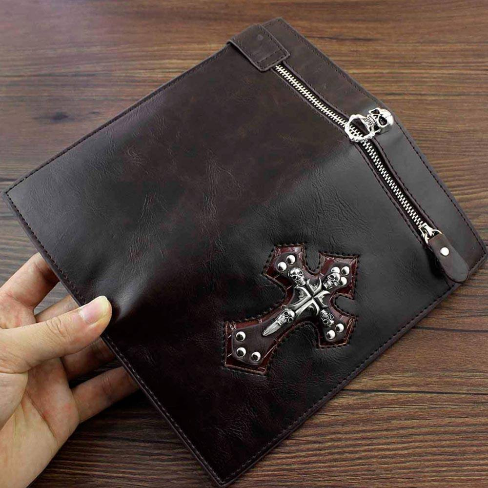 Wallet - Big Cross Tall Wallet With Chain