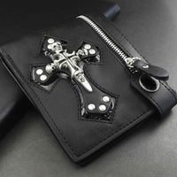 Wallet - Skulls & Cross Leather Wallet