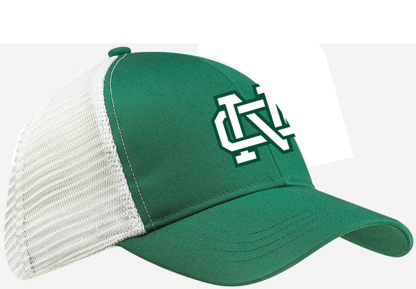 Green & White Trucker Cap